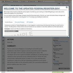 Nationwide Permit Program