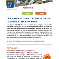 ADA FRANCE - Fédération nationale - Apiculture