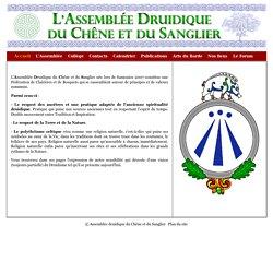 SITE Druidisme - L'Assemblée Druidique du Chêne et du Sanglier - Fédération de Clairières et Bosquets druidiques