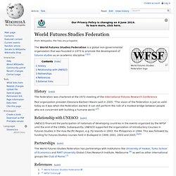 World Futures Studies Federation