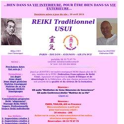 fedération FFRU : Formation Reiki, tous degres et Maitrise
