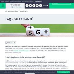 FAQ - 5G et santé - Fédération Française des Télécoms