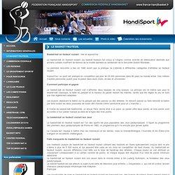 Fédération française handisport commission fédérale handibasket - LE BASKET FAUTEUIL