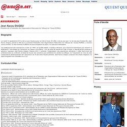 Jean KacouDIAGOU(Président de la Fédération des Organisations Patronales de l`Afrique de l`Ouest (FOPAO)) - Abidjan.net Qui est qui ?