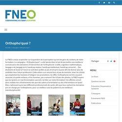 Orthopho'quoi ? - Fédération Nationale des Étudiants en Orthophonie