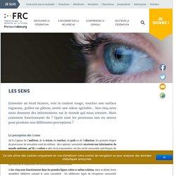 Les sens - Fédération pour la Recherche sur le Cerveau (FRC)