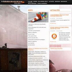 Fédération Rhône-Alpes des Arts de la Rue: A la une