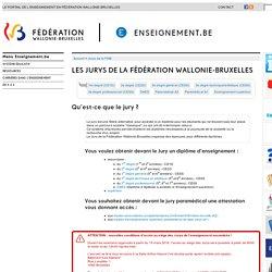 Jurys [Fédération Wallonie-Bruxelles]