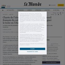 Charte de l'islam: trois fédérations du Conseil français du culte musulman refusent de signer le texte en l'état