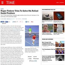 Roger Federer Faces Rafael Nadal at Australian Open Friday