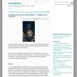 """À propos du livre de Silvia Federici : """"Caliban et la Sorcière"""""""