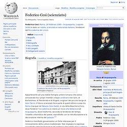 Federico Cesi (scienziato)