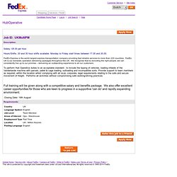 FedEx Europe Career Gateway