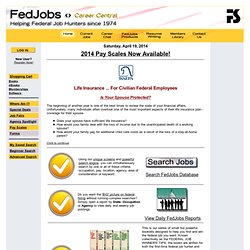 FedJobs.com ... Helping Federal Job Hunters since 1974