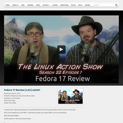 The Linux Action Show