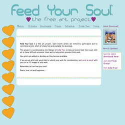 Feed Your Soul: the free art project