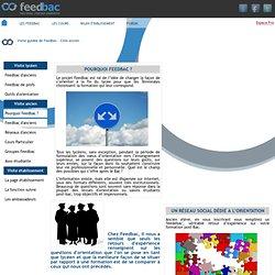 réseau social d'orientation post-bac basé sur des retours d'expérience d'anciens élèves