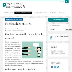 Feedback et culture - Regards InterculturelsRegards Interculturels