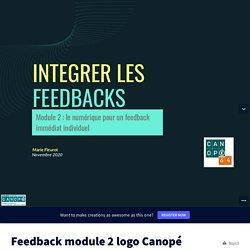 Feedback module 2 logo Canopé