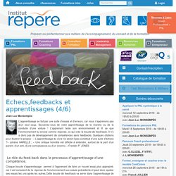 Feedbacks et apprentissages, suite par Institut Repere