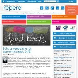 Echecs, feed-backs et apprentissages -4/6
