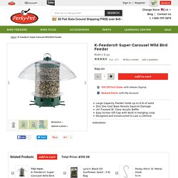 K-Feeders® Super Carousel Wild Bird Feeder Model # K-351