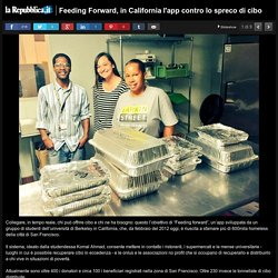 Feeding Forward, in California l'app contro lo spreco di cibo