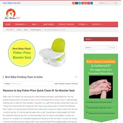 Best Baby Feeding Chair in India
