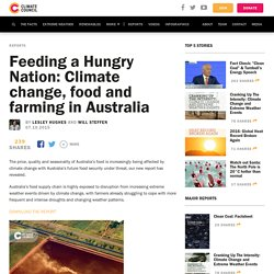 Feeding a Hungry Nation: Climate change, food and farming in Australia - Climate Council