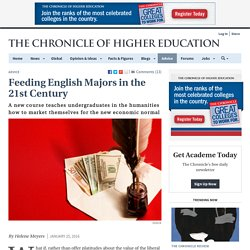 Feeding English Majors in the 21st Century