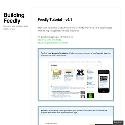 Building Feedly