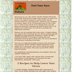 Feel Your Face Pulsate