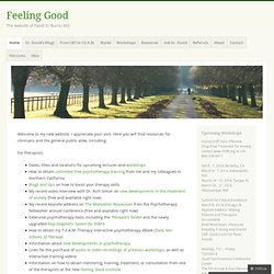 Feeling Good Home Page