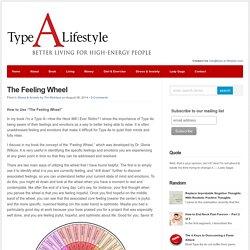 The Feeling Wheel : Type A Lifestyle