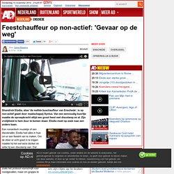 Feestchauffeur op non-actief: 'Gevaar op de weg'