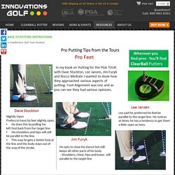 Proper Feet Position in Golf
