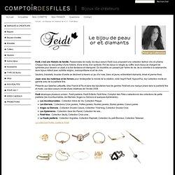 Feidt Bijoux - Comptoir des Filles