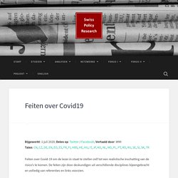 Feiten over Covid19 – Swiss Policy Research