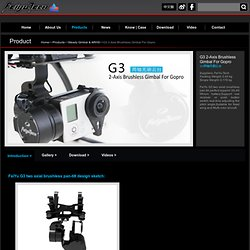 FeiYu Tech_G3 2-Axis Brushless Gimbal For Gopro