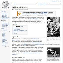 Feldenkrais wiki