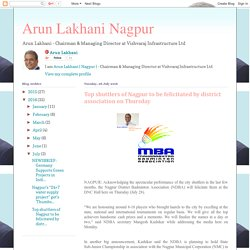 Arun Lakhani Nagpur: Top shuttlers of Nagpur to be felicitated by district association on Thursday