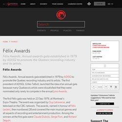 Félix Awards