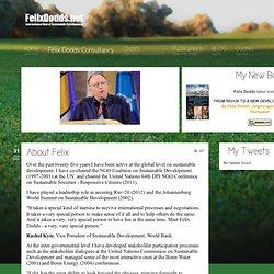 FelixDodds.Net - About Felix