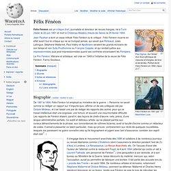 Félix Fénéon