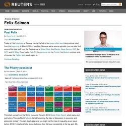 Felix Salmon | Analysis & Opinion |