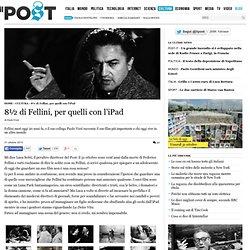 8½ di Fellini, per quelli con l'iPad