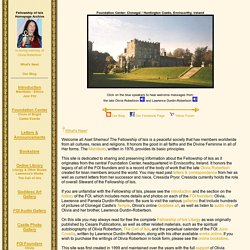 Fellowship of Isis ~ Homepage Archive