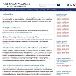 Fellowships - American Academy of Arts & Sciences