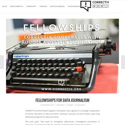 Fellowships for Data Journalism
