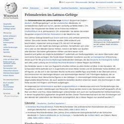 Felsmalereien im Latmos-Gebirge